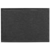 Коврик влаговпитывающий Ребристый 50х80 см черный SunStep 35-043