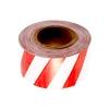 Лента сигнальная бело-красная, 50 мм (200 м)