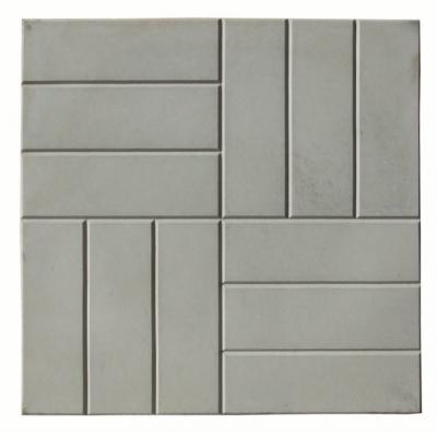 Плитка тротуарная 12 камней 45х500х500 мм серая