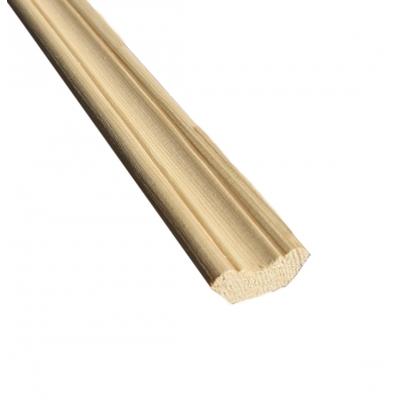 Плинтус фигурный 10х35х2500 мм хвойных пород сорт A