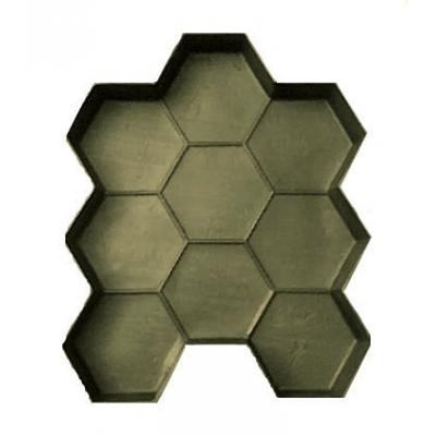 Форма для тротуарной плитки Соты 50х380х460 мм