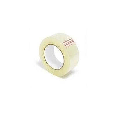 Скотч упаковочный прозрачный, 40 мкм, 50 мм (52 м)