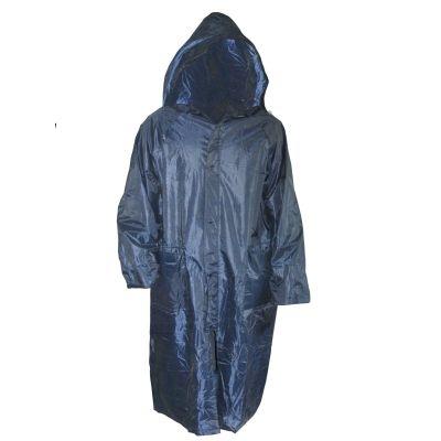 Дождевик-плащ нейлоновый синий XXL (в сумке)