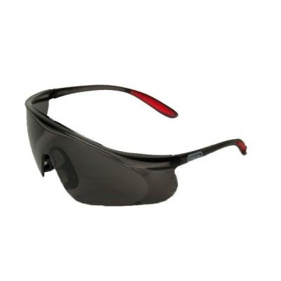 Очки защитные открытые затемненные черные Q525251 OREGON