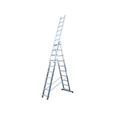 Лестница 3-х секционная Алюмет (3х10 ступеней)