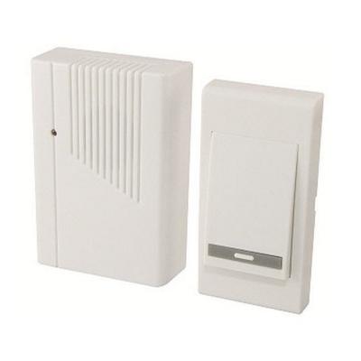 Звонок беспроводной с питанием от батареек TDM ЕLECTRIC ЗББ-11/3-36М белый