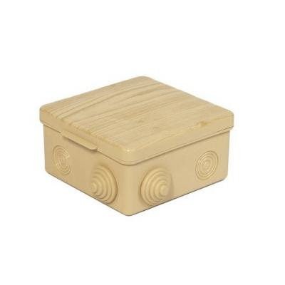 Коробка распределительная (распаячная) ОП 100х100х55 мм сосна TDM ЕLECTRIC