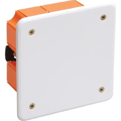 Коробка распределительная (распаячная) СП 92х92х45 мм оранжевая TDM ЕLECTRIC