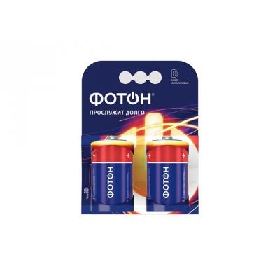 Элемент питания LR20 1.5 В ОР2 (2 шт) ФОТОН