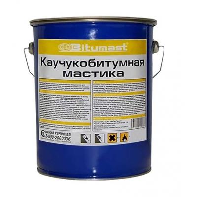 Мастика каучукобитумная Bitumast, 21,5 литра