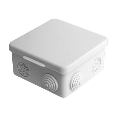 Коробка распределительная (распаячная) ОП 80х80х50 мм светло-серая TDM ЕLECTRIC