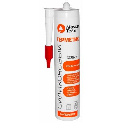 Герметик силиконовый MasterTexs ProfiMaster универсальный белый (290 мл)