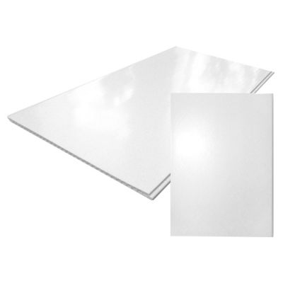 Панель ПВХ 250х2700 мм белая глянцевая Центурион