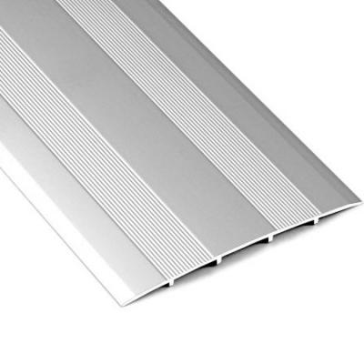 Порог стыкоперекрывающий А80 79х900 мм серебро