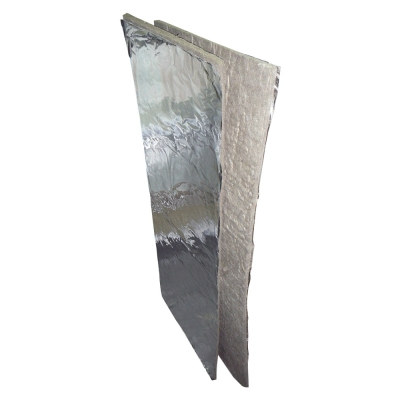 Материал базальтоволокнистый теплоизоляцион. БВТМ-ПМ/Ф1, 1250х460х10 (0,115м3) Плита МЯГКАЯ фольгир.