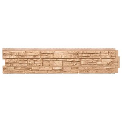 Фасадная панель Grand Line Я-Фасад Крымский сланец 338x1550 мм (янтарная)
