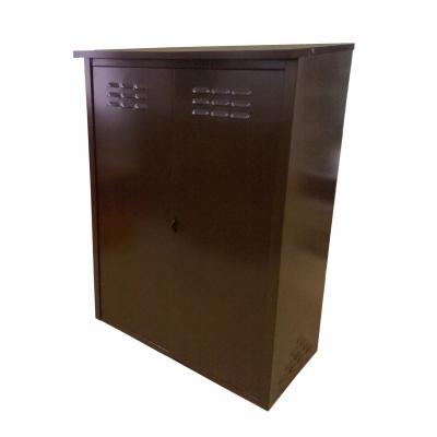 Шкаф для газового баллона (на 2 баллона 50 л) разборный коричневый