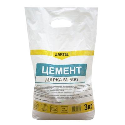 Цемент М-500 Артель 3 кг