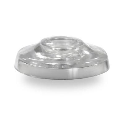 Термошайба для поликарбоната 38 мм без ножки прозрачная (25 шт)