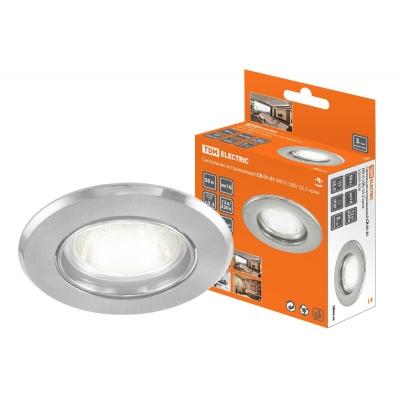 Светильник потолочный СВ 01-01 50 Вт хром TDM ЕLECTRIC