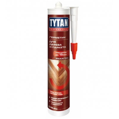 Герметик для дерева Tytan Professional махагон (310 мл)