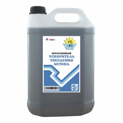 Ускоритель твердения бетона всесезонный, 5 литров