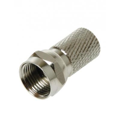 Разъем F резьбовой для кабеля RG-6 GODIGITAL 405 (5 шт)