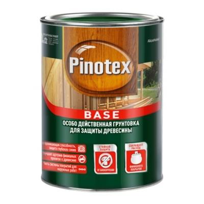 Антисептик-грунт Pinotex Base (1 л)