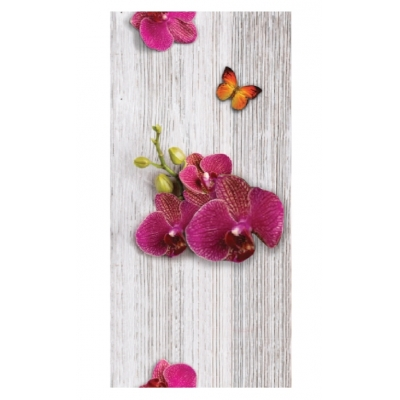 Панель ПВХ 250х2700 мм Имеджин №0150 цветы джунглей Центурион