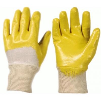 Перчатки маслобензостойкие с нитриловым покрытием Лайт (резинка)