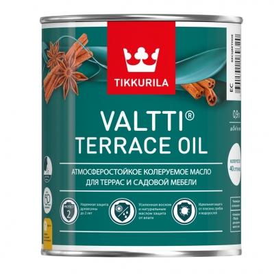 Масло для террас Tikkurila Valtti Terrace Oil EC бесцветный (0.9 л)