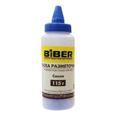Краска разметочная порошковая синяя BIBER 115 г