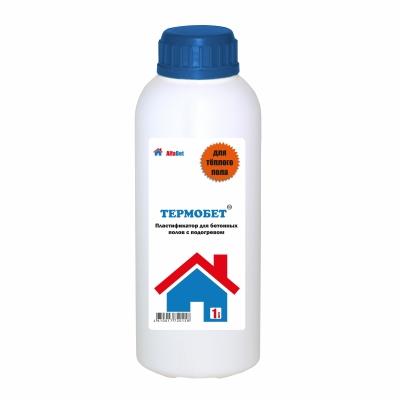 Пластификатор для бетонных полов с подогревом АЛЬФАБЕТОН ТермоБетон, 1 литр