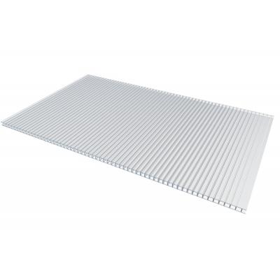 Поликарбонат сотовый специальный для теплиц 4х2100х6000 мм прозрачный
