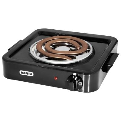 Плитка электрическая 1-конфорочная Мечта-111 т ЭПТ 1-1,0/220 черная