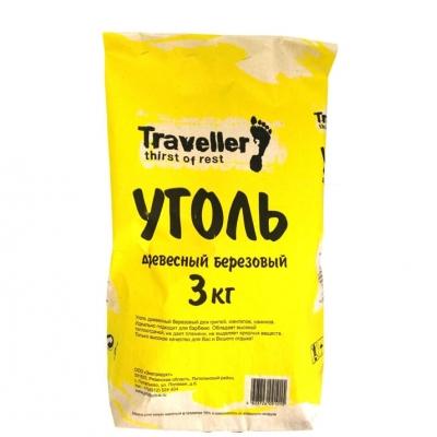 Уголь древесный березовый 3 кг