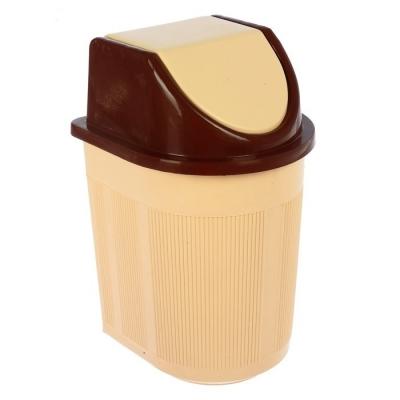 Контейнер для мусора 6 л (с кач.крышкой)