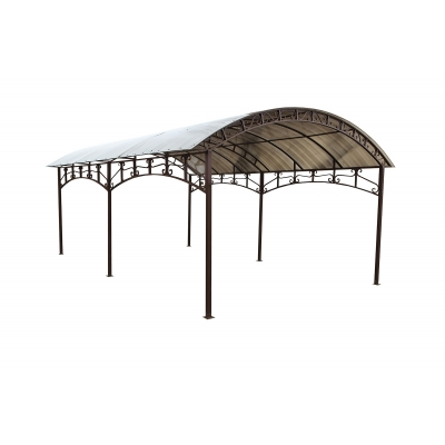 Каркас навеса  (без поликарбоната) 3,5х6м