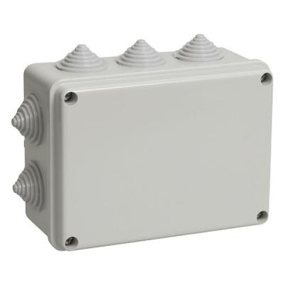 Коробка распределительная (распаячная) ОП 190х140х70 мм серая TDM ЕLECTRIC