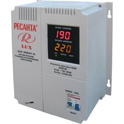 Стабилизатор напряжения Ресанта LUX АСН-3000Н/1-Ц