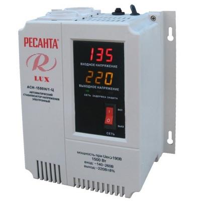 Стабилизатор напряжения Ресанта LUX ACH-1500Н/1-Ц
