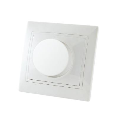 Светорегулятор (диммер) поворотный СУ 600 Вт белый TDM ЕLECTRIC Таймыр RL