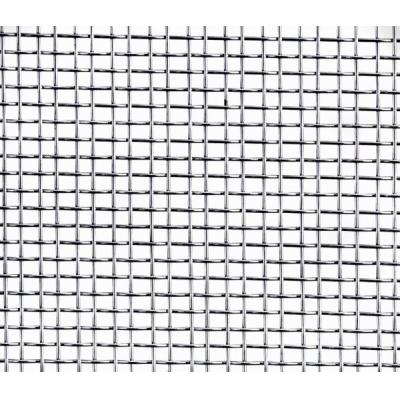 Сетка тканная без покрытия ячейка 1.2х1.2 мм d-0.4 мм (1 м)
