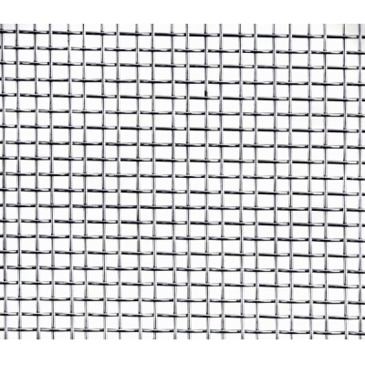 Сетка тканная без покрытия ячейка 10х10 мм d-0.7 мм (1 м)