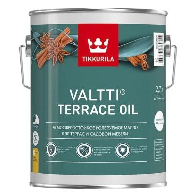 Масло для террас Tikkurila Valtti Terrace Oil EC бесцветный (2.7 л)