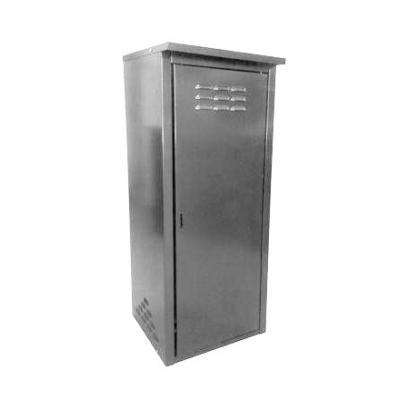 Шкаф для газового баллона (на 1 баллон 50 л) разборный серый