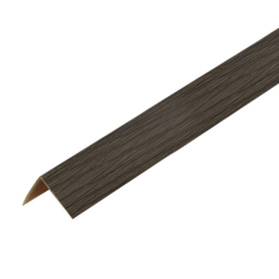 Уголок ПВХ Идеал 40х40х2700 мм венге черный