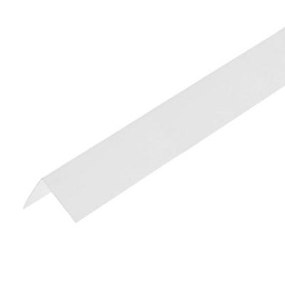 Уголок ПВХ 40х40х2700 мм белый лед