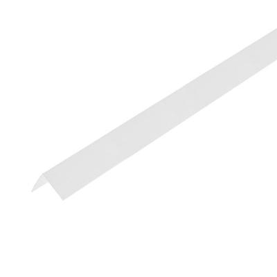 Уголок ПВХ Центурион 20х20х2700 мм белый лед