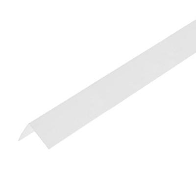 Уголок ПВХ 30х30х2700 мм белый лед